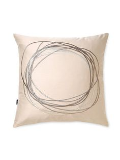 Mercury Embroidery Pillow