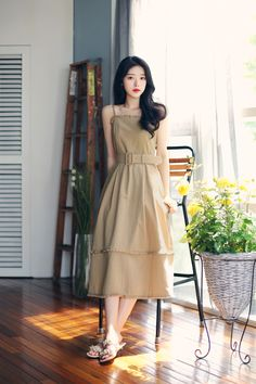 Korean Fashion Dress, Korean Dress, Ulzzang Fashion, Muslim Fashion, Korean Outfits, Asian Fashion, Teen Fashion Outfits, Girly Outfits, Modest Outfits