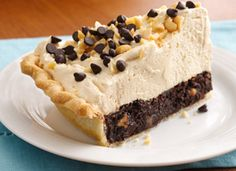Mile-High Peanut Butter-Brownie Pie... YUMM!