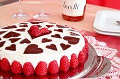 Svěží a lehký dort Stracciatella