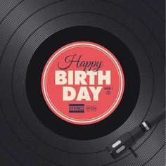 birthday, happy, and record resmi Happy Birthday Dj, Happy Birthday Celebration, Happy Birthday Pictures, Happy Birthday Quotes, Happy Birthday Greetings, Girl First Birthday, Birthday Memes, Birthday Blessings, Birthday Wishes Cards