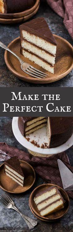 How to Make the Perfect Cake   Baking 101   Cake Baking   Baking Basics