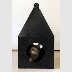 """Agatha"" Cat house (cardboard) @ Pichoniza*"