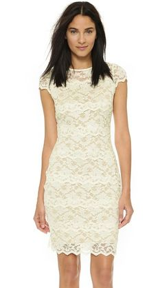 Badgley Mischka Collection Belle Lace Dress