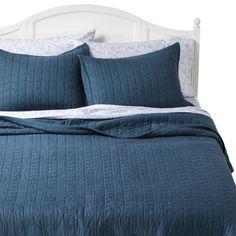 Vintage Washed Solid Quilt - Threshold™ : Target