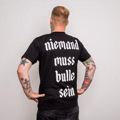 Feine Sahne Fischfilet : Unisex Shirt - Niemand (black)