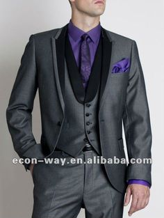 New arrival design mens wedding suit 2013