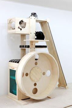 Ultimate cat tree: looloowheel-LWB108