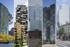 I grattacieli top del mondo: tra i finalisti il Bosco Verticale - Foto - SiViaggia