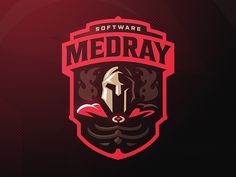 MedRay designed by Stanislav. Connect with them on Dribbble; the global community for designers and creative professionals. Game Logo Design, Branding Design, Corporate Branding, Logo Branding, Brand Identity, Branding Ideas, Logo Inspiration, Professionelles Logo, Logos 3d