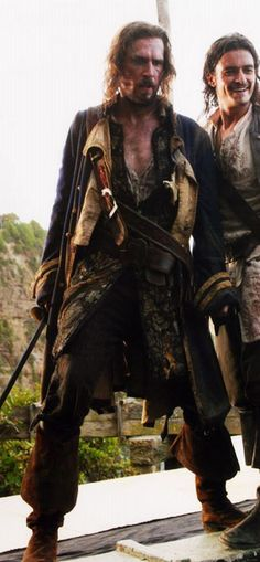 *NORRINGTON and TURNER ~ PIRATES OF THE CARIBBEAN: Dead Man's Chest.