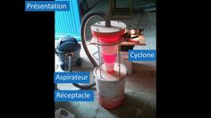 """Présentation et test d'un aspirateur à copeaux cyclonique """"fait maison"""". Ce petit bricolage à pour origine de nombre idées trouvées sur internet et notamment..."""
