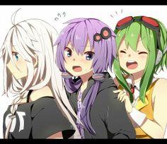 IA, Yukari and Gumi