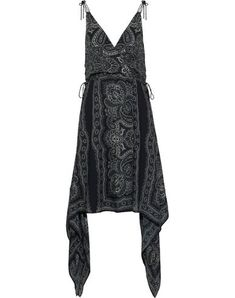 Shop on-sale HAUTE HIPPIE Asymmetric wrap-effect printed silk-chiffon dress. Browse other discount designer Knee Length Dress & more on The Most Fashionable Fashion Outlet, THE OUTNET. Crepes, Women's Knee Length Dresses, Haute Hippie, Crepe Dress, Fashion Outlet, Summer Dresses, Formal Dresses, Silk Chiffon, Hippie Style