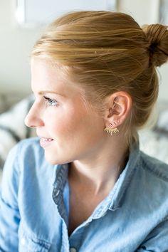 Jewelry Crush: Dainty Spiked Earrings