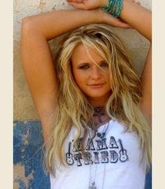 miranda lambert from the KEROSENE VIDEO in her JG MAMA TRIED TANK - { Junk GYpSy co. - http://gypsyville.com/mama-tried-tank-mama-tried-tank.html }