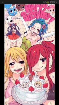 Fairy Tail Cake :)