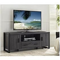 80 inch Wood Rustic TV Stand Storage Entertainment Center Console