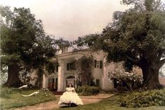 We'll admit that we often pay more attention to the setting than the storyline when we're watching a movie. Here, we've rounded up our all-time favorite historic homes featured in films. if only there was an Oscar for Best Supporting House! Scarlett Ohara Dresses, Scarlett O'hara, Movie Props, Historic Homes, Old Houses, Florence, Real Estate, Hollywood, The Incredibles