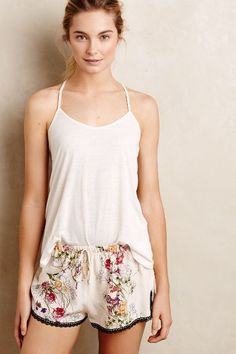 Meadow Lace Shorts - anthropologie.eu