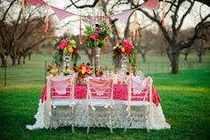 Bright Bold Color Palette To Cure Your Winter Wedding Blues   Photograph by Vanjad Photography