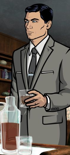 Make an Archer care package. Everything for a Sterling Archer :)