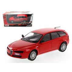 Alfa Romeo 159 SW Red 1/24 Diecast Car Model by Motormax