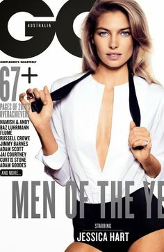 Jessica Hart for GQ 2013