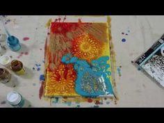 17 Easy Ways to Make Pébéo Mixed Media Art - Hobbycraft Blog