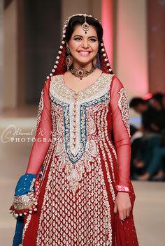 Nida-Yasir-in-Zainab-Chottani-Bridal-Collection-at-Pantene-Bridal-Couture-Week-2013