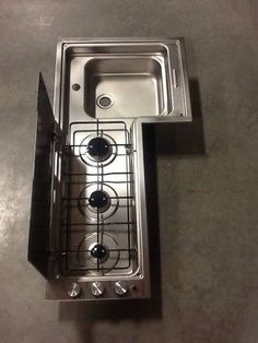 Dometic-3-Burner-Stove-Top-With-Sink