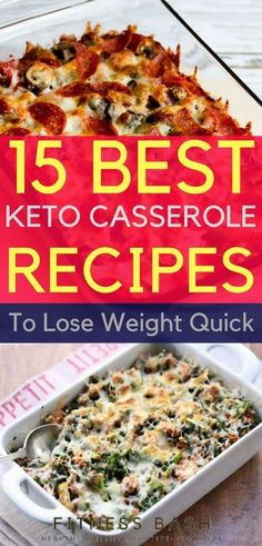 Keto casserole recipes for easy dinner. The low carb keto casserole recipes which you can make even on busy weekdays for a ketogenic diet.