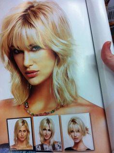 Medium Hair with Fringe bangs
