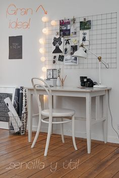 Rejilla para escritorio - Mi casa no es de muñecas
