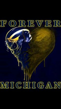 College football is one of the most watched sporting events in the United States. The sport is played by student athletes at American colleges, universities, Michigan Go Blue, State Of Michigan, College Football Teams, Football Memes, Football Signs, Football Stuff, Football Season, Detroit Sports, Detroit Lions