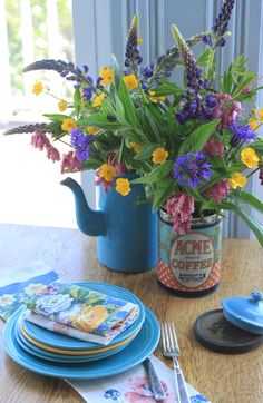Bright and sunny assortment, from Julia M. Usher