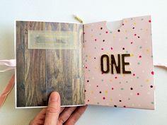 Pocket Envelope Mini Book Album for Baby