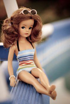 Sindy Doll, Vintage Barbie Dolls, Blythe Dolls, Sewing Doll Clothes, Sewing Dolls, Pretty Dolls, Beautiful Dolls, Tammy Doll, Barbie Patterns