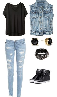 """Tenue Swag"" by one-direction81 ❤ liked on Polyvore"