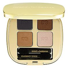 Dolce & Gabbana The Eyeshadow Smooth Eye Colour Quad in Smoky 105 #sephora