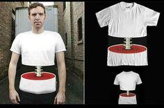 Barato 3D t homens camisetas camiseta da coluna de choque horror anime  engraçado t shirt homem 6839904317c