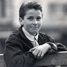 Young Christian Bale- I like him better that way. Christian Bale, Young Ones, Best Actor, Celebrity Crush, Celebrity Pics, Famous Faces, Tv, Movie Stars, Actors & Actresses