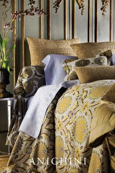 ANICHINI is luxury textile brand, specializing in artisanal fabrics & home furnishings for the home & hotel. We search the world for the finest, most authentic textiles. See what we mean.