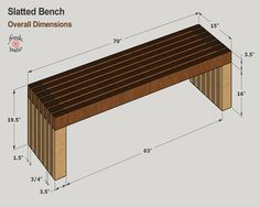 We picked these 4 modern outdoor bench plans for your next DIY project. Diy Outdoor Furniture, Diy Furniture, Furniture Plans, Rustic Furniture, Garden Furniture, Woodworking Plans, Woodworking Projects, Garden Bench Plans, White Bench