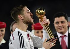 "Ramos: ""We dedicate this to the fans. We're very happy. It has been an unbeatable, unforgettable year."""