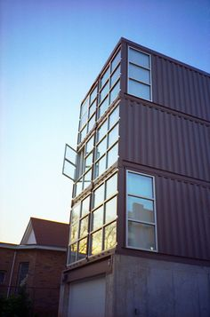 container house by probable koz, via Flickr