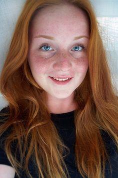 Enya M. #Redhead #Girl #Portrait #Red #Hair #Beauty #Freckles
