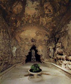 BUONTALENTI, Bernardo The Grotto Grande 1583-93 Rock Boboli Gardens, Florence