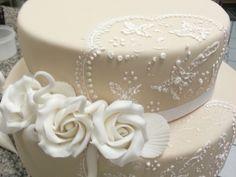 Artedolce Wedding Cake #wedding