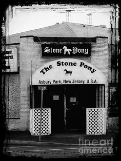 """The Stone Pony"" ~ By Colleen Kammerer. Asbury Park, New Jersey."